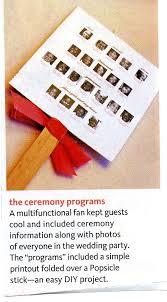 Playbill Wedding Programs Diy Guide For Creating A Playbill Wedding Ceremony Fan Program