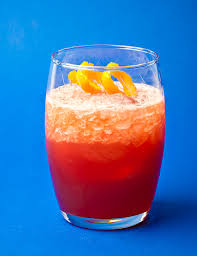 campari orange punch negroni frappé cocktail recipe