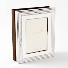 5 X 7 Photo Albums 5x7 White U0026 Silver Photo Album