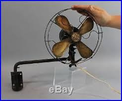 small wall mount fan small antique general electric ge alternating current wall mounted
