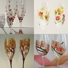wedding glasses decoration ideas weddings eve