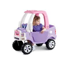 pink toy jeep little tikes princess cozy truck