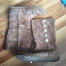 womens ugg lo pro boot chestnut 85 ugg shoes ugg lo pro button boot from kristi s closet on