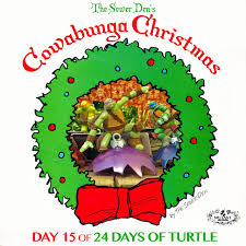 the sewer den cowabunga day 15 faux broken ornaments