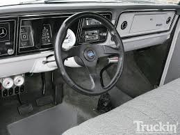 Classic Ford Truck Interiors - 1974 ford f 100 homebuilt ranger father son build truckin