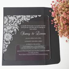online get cheap acrylic wedding invitation aliexpress com