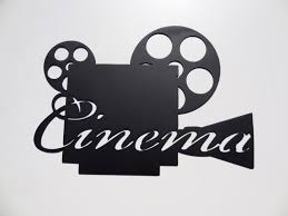 Home Movie Theater Wall Decor Movie Reel Wall Decor Ideas Design Ideas And Decor