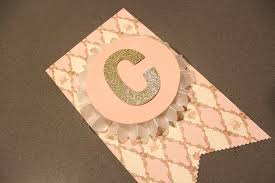 baby shower banner ideas make this pretty diy party banner it s much easier than it looks