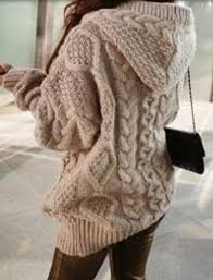 knit oversized sweater blouse cardigan sweater cableknit