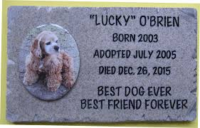 pet headstones pet memorial plaques photo gallery