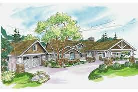 house plans with detached garage associated designs craftsman plan