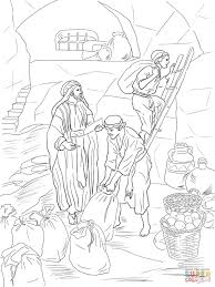 prophet malachi storing gifts in the temple coloring page free