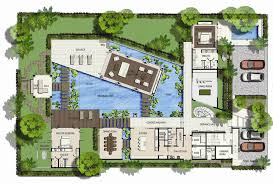 villa floor plan saisawan villas type ground floor plan home plans