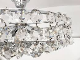 Cristal Chandelier by Mid Century Austrian Cut Crystal Chandelier For Sale At Pamono