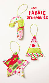 easy fabric ornament gift toppers scattered thoughts of a crafty
