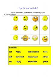 how do you feel today worksheet by abennie