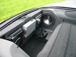 camaro speaker box 98 camaro trunk box car audio diymobileaudio com car stereo