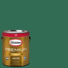 glidden premium 1 gal nhl 010e dallas stars light green flat