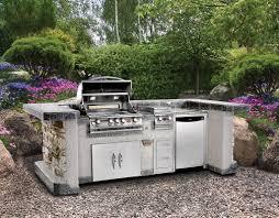 modular outdoor kitchen islands ways to choose prefabricated outdoor kitchen kits interior