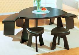 furniture adorable triangular dining table set triangle room