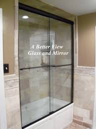 frameless glass shower door installation in smithfield virginia