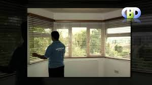 baywindow wooden venetian blinds at www leadinginteriors com youtube