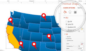 how to use our editable map templates in powerpoint slidemodel