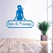 compare prices on free salon furniture online shopping buy low mad world beauty salon spa massage wall art stickers decal home diy decoration wall mural