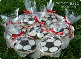 potlucks on the porch how to make soccer ball cookies