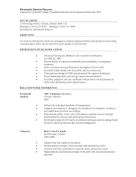Best Resume Assistance by Paramedic Resume Berathen Com