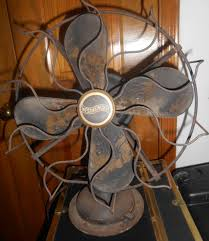westinghouse oscillating fan works w wood blades collectors weekly
