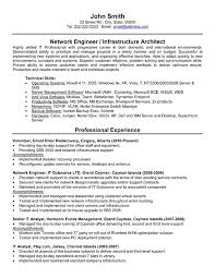 Technical Skills Resume Examples by 11 Junior Network Engineer Resume Resume Entry Level Network