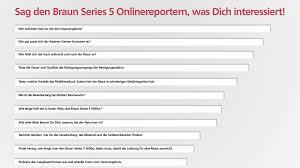 B Otisch Schmal Der Braun Series 5 Rasierer U2013 Meinungen Erfahrungen Und