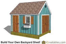 How To Build A 10x12 Shed Plans by Shed Designs Storage Lean To U0026 Garden Shed Plans