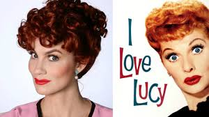 lucille ball i love lucy halloween makeup tutorial youtube