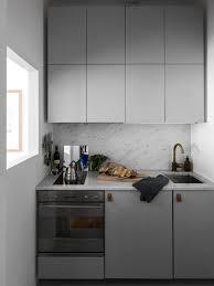 cuisine compacte cuisine compacte et chic en gris clair cuisines kitchen i