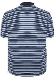 light blue striped polo dress badrhino light blue navy striped polo shirt extra large sizes m l