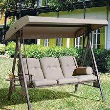 Patio Swing Folds Into Bed Porch Swings Outdoor Swings Sears