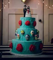 skull wedding cake toppers this cake is just badass for words a woman can can t