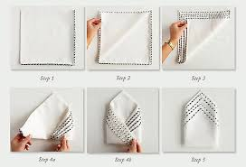 how to fold table napkins napkin folding for our very fancy dinner parties diy home