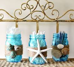 craft ideas for bathroom diy themed bathroom jar storage set craft diy home