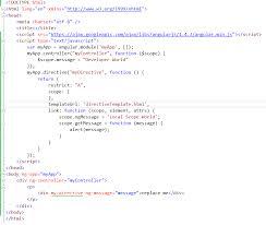 angular js understanding custom directive fundamentals