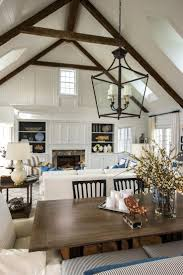 46 best ideas for the house images on pinterest ina garten big a gorgeous white paint job unites the kitchen dining room and great room in hgtv dream home while high ceilings and rustic antique beams show off the
