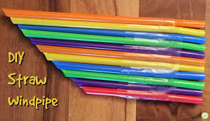 Musical Instruments Crafts For Kids - straw windpipe music craft for kids green kid crafts