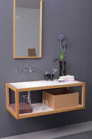 modern bathroom vanity with double sink and mirrors madrid white