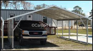 Steel Car Port 18x21x6 Two Car Steelcarport Carport Empire