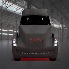 electric semi truck cummins aeos electric semi truck concept revealed photos 1 of 4