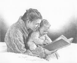 pencil sketches of mother and child don greytak american pencil