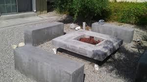 Concrete Firepit Concrete Pit Exploding Pit Ideas