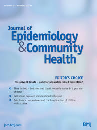 meta analysis of prevalence journal of epidemiology u0026 community